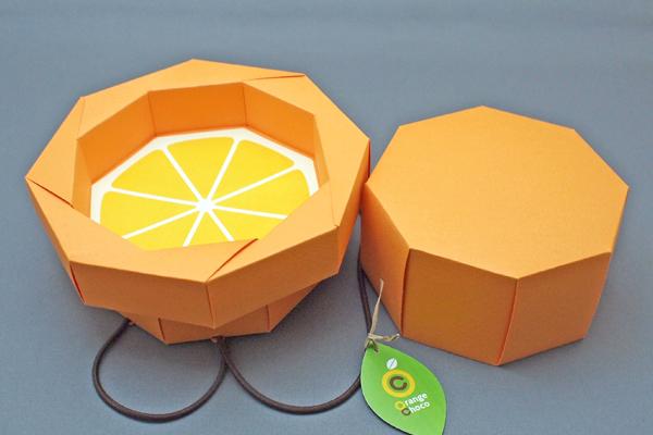 みかんパッケージデザイン